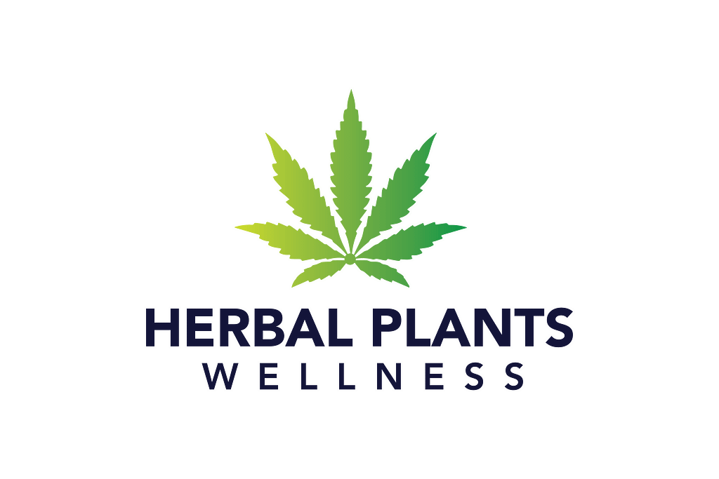 herbal plants wellness logo
